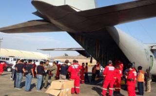 Terremoto en Ecuador: Perú envió cuatro toneladas de ayuda