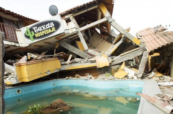 Devastación en Ecuador tras el terremoto de 7,8 grados [FOTOS]