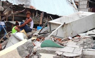 Terremoto en Ecuador: La destrucción en el pueblo más afectado