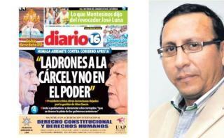 Alan García: por esta portada sentenciaron a periodista