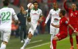 Bremen de Pizarro fuera de Copa Alemana: cayó 2-0 ante Bayern