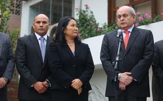 Cateriano a Keiko: Humala no desvió dinero de FF.AA. a Suiza