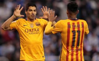 Luis Suárez: mira el póker que le marcó al Deportivo La Coruña