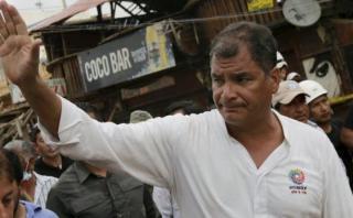 """Rafael Correa: """"Necesitamos más que nunca que visiten Ecuador"""""""