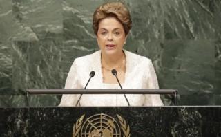 """Dilma denunció ante la ONU el """"grave momento"""" que vive Brasil"""