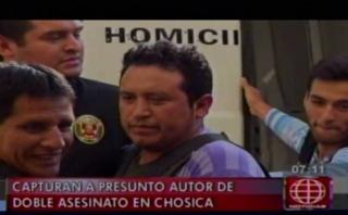 Después de mes y medio cae autor de doble crimen en Huachipa