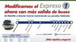Metropolitano: nuevo expreso irá de Naranjal a estación Central - Noticias de la parada