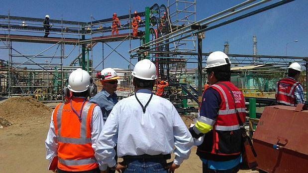 Fiscalizan condiciones de trabajadores de Refinería de Talara