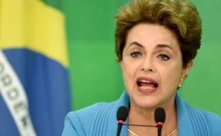 """Dilma arremete contra oposición: """"Quien me juzga es corrupto"""""""