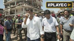 Evo Morales pide unidad para ayudar a Ecuador tras terremoto