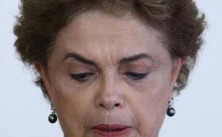 """Dilma a puertas de su eventual destitución: """"Estoy triste"""""""