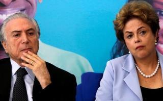 Dilma lucha contra destitución y Temer se prepara para gobernar