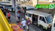 El desorden que se genera a diario en puente de Mega Plaza
