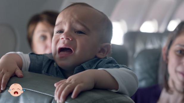 Estos pasajeros nunca disfrutaron más de viajar con bebés