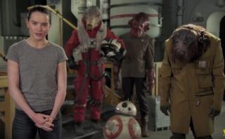 Daisy Ridley desea un feliz día de Star Wars en divertido video