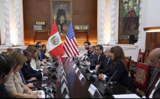 Cateriano: Relaciones con EE.UU. pasan por excelente momento