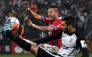 Nacional empató 2-2 con Corinthians por Copa Libertadores