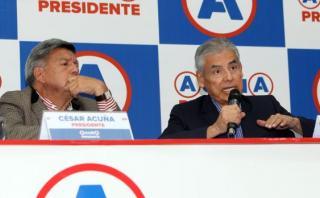 """César Villanueva: """"No imagino a César Acuña en mitin con PPK"""""""
