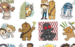 Facebook Messenger lanzó nuevos stickers de Star Wars