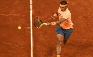 Rafael Nadal ganó y avanzó a semifinal del Masters de Madrid