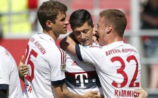 Bayern Múnich: este doblete de Lewandoski le dio la Bundesliga