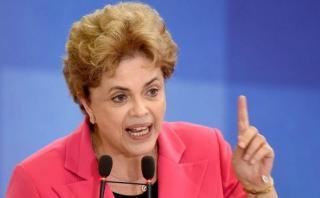 """Dilma: """"Ahora más que nunca tenemos que luchar contra el golpe"""""""