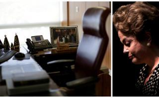 Impeachment: Dilma ya se llevó las fotos de su despacho