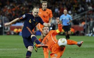Andrés Iniesta y el gol más importante de su vida [VIDEO]