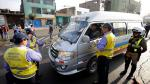 Chofer trató de sobornar a policía ante fiscalizadores de Lima - Noticias de papeletas de transito