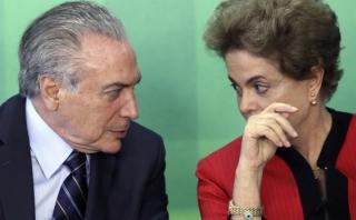 ¿Con Temer en lugar de Dilma se acaban los problemas en Brasil?