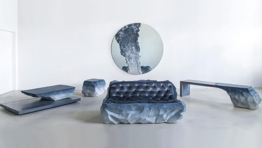 Esta serie de muebles parecen salidos de la edad de piedra