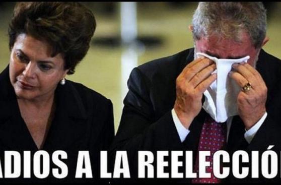 Brasil: divertidos memes parodian salida de Dilma Rouseff