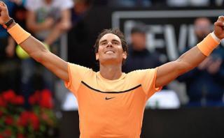 Rafael Nadal venció a Nick Kirgyos y avanzó a cuartos en Roma