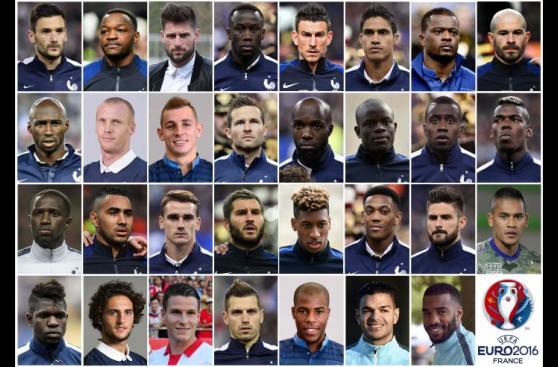 Francia llamó a sus 23 para la Eurocopa: ¿Y Benzema? [FOTOS]