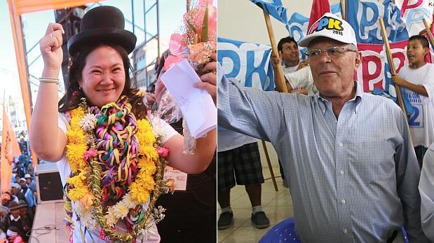 CPI: Keiko Fujimori con 53,3% y PPK con 46,7% en segunda vuelta