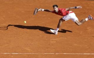 Djokovic-Nadal: el increíble punto del serbio para ganar un set
