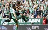 Bremen se salvó de la baja tras vencer al Eintracht Frankfurt