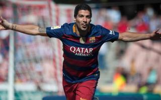 Luis Suárez y el triplete que le dio título a Barcelona [VIDEO]