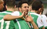 Claudio Pizarro se llevó está sorpresa en la ciudad de Bremen