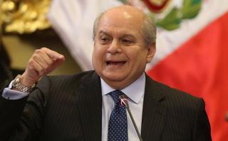"""Cateriano: Denuncia contra Joaquín Ramírez es """"sumamente grave"""""""