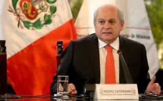"""Cateriano: """"La Defensoría del Pueblo sufre maltrato político"""""""