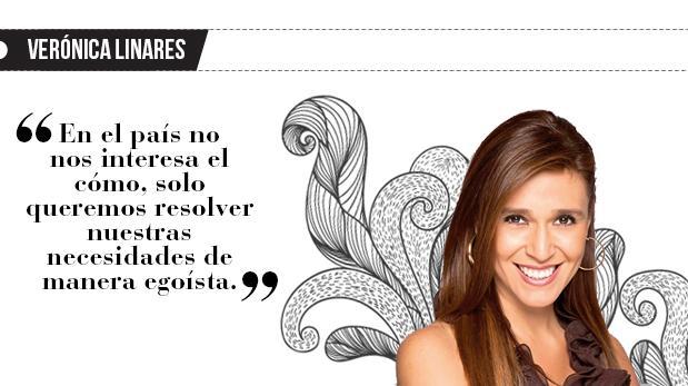 """Verónica Linares: """"Somos informales"""""""