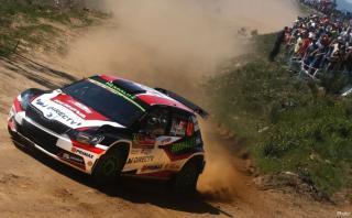 WRC: Nicolás Fuchs sólido en el segundo puesto en Portugal