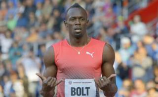 Usain Bolt reveló que no desea a Mourinho en Manchester United