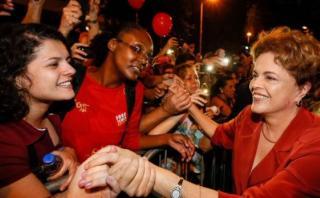 """En Belo Horizonte, Dilma pide que la democracia no """"sea herida"""""""