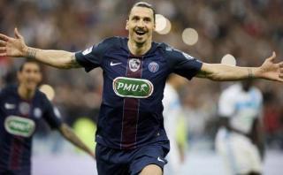 Ibrahimovic se despide del PSG ganando la Copa de Francia