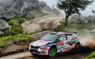 WRC: Nicolás Fuchs sumó otro podio en Portugal