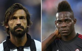 Selección italiana: Balotelli y Pirlo se quedan sin Eurocopa