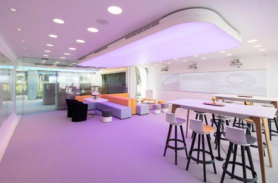 Inauguran en Dubái la primera oficina impresa totalmente en 3D