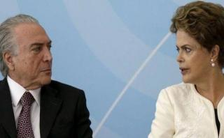 Dilma acusa a Temer de querer privatizar el petróleo brasileño
